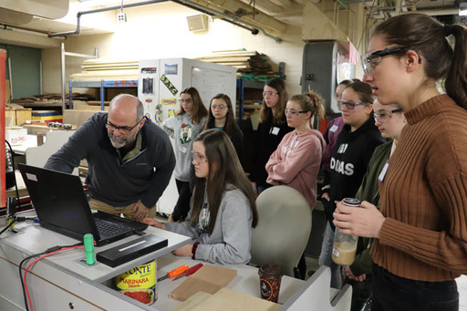 SHS Engineering Program Fueled by Girl Power
