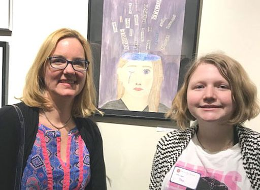 Ordway Gallery Features Simsbury Students' Art
