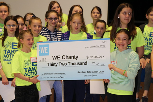 Three Simsbury Elementary Schools Raise over $6,000 to Help End Food Insecurity