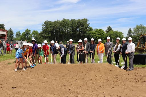 HJMS Breaks Ground on Final Phase of Construction and Renovation