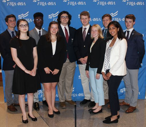 Simsbury High School Recognized with Top Honors at FBLA National Leadership Conference in San Antonio