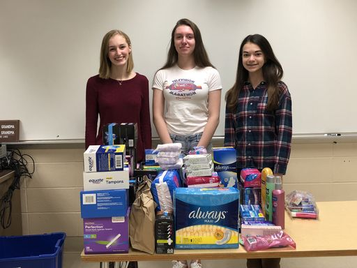 SHS Women's Empowerment Club Aids Houston Women's Shelter