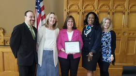 Assistant Superintendent Erin Murray Receives Award